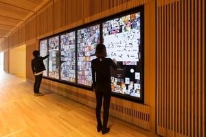 チームラボ、新オープンの富山県美術館に「デジタルインフォメーションウォール」納入