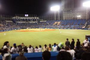 初めての野球場