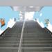 """〈2019.2.8〉小田急線登戸駅構内に「ドラえもん」装飾を実施。 登戸駅が""""すこしふしぎな""""空間に!"""