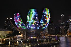 シンガポールの夜をアーティスティックに彩る「LIGHT to NIGHT FESTIVAL 2019」