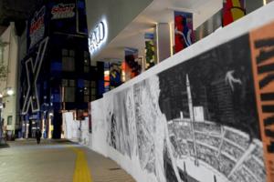 パルコ、AR技術で現実世界にアートが蘇る「AKIRA ART OF WALL – INVISIBLE ART IN PUBLIC -」開催