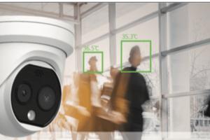 〈2020.6.19〉【新型コロナウイルス対策】AIサーマルカメラで発熱者を迅速に検知、デジタルサイネージで注意喚起が可能に