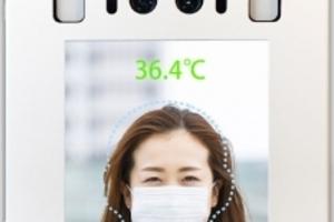 〈2020.6.29〉セイビ堂、マスク着用でも顔認識、体温検知が可能な顔認証パネル「フェイスサーモ」発売