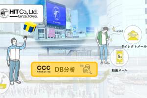 〈2021.2.17〉CCCマーケティングとヒット、屋外ビジョン広告接触者へ向けたダイレクトマーケティングを提供
