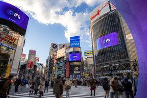 〈2021.2.22〉IFS、刷新した企業ロゴを世界各国の屋外広告で公開